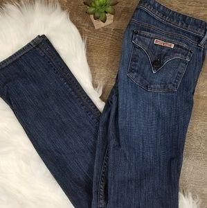 Hudson Dark Wash Dew Straight Jeans Style W402DKS